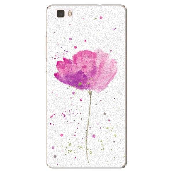 iSaprio Plastové pouzdro iSaprio - Poppies - Huawei Ascend P8 Lite