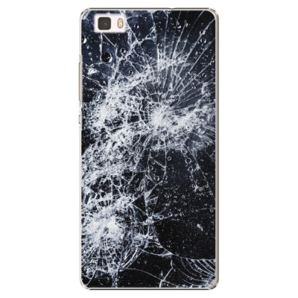 iSaprio Plastové pouzdro iSaprio - Cracked - Huawei Ascend P8 Lite
