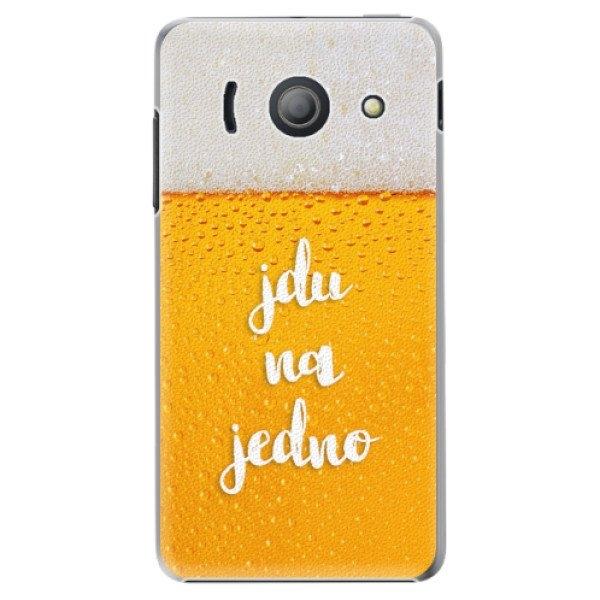 iSaprio Plastové pouzdro iSaprio - Jdu na jedno - Huawei Ascend Y300