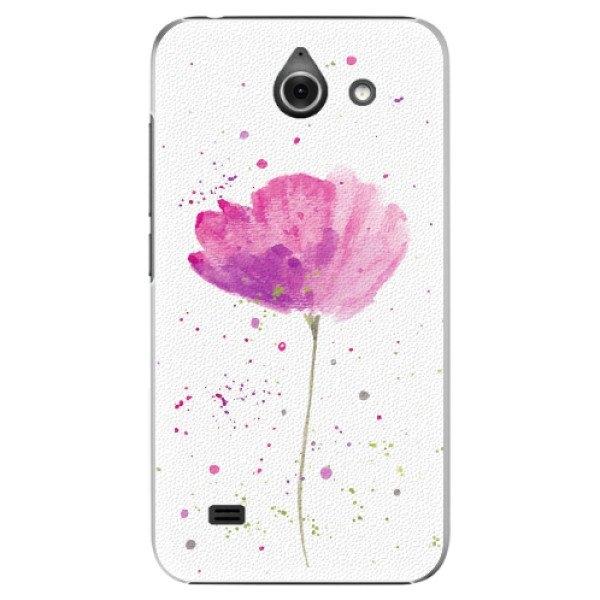 iSaprio Plastové pouzdro iSaprio - Poppies - Huawei Ascend Y550