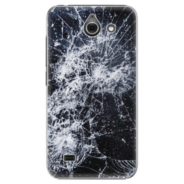 iSaprio Plastové pouzdro iSaprio - Cracked - Huawei Ascend Y550