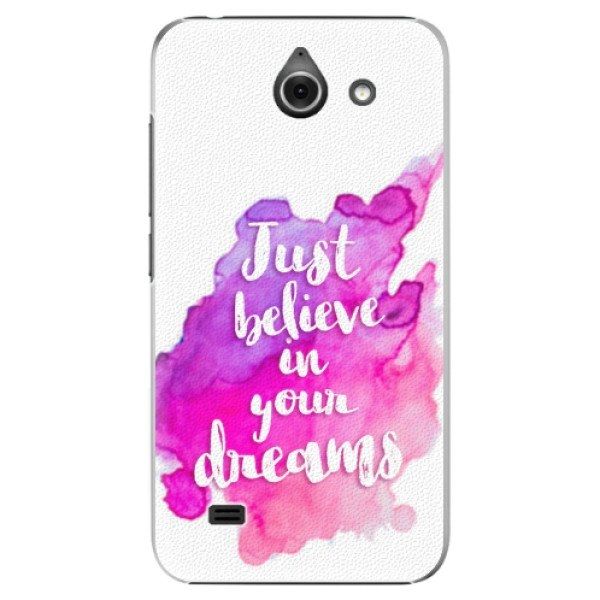 iSaprio Plastové pouzdro iSaprio - Believe - Huawei Ascend Y550