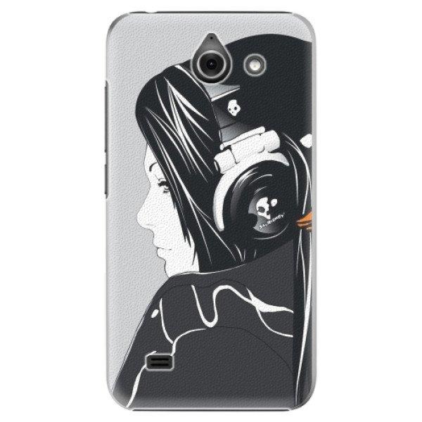 iSaprio Plastové pouzdro iSaprio - Headphones - Huawei Ascend Y550