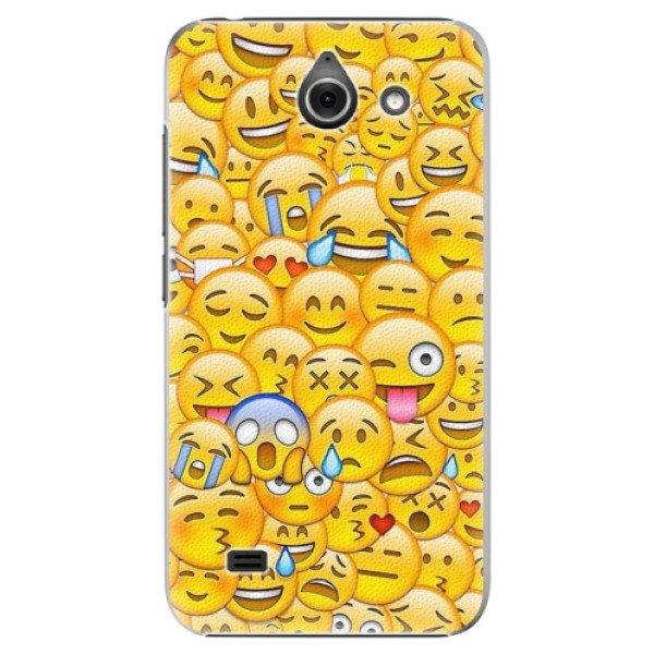 iSaprio Plastové pouzdro iSaprio - Emoji - Huawei Ascend Y550