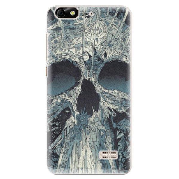 iSaprio Plastové pouzdro iSaprio - Abstract Skull - Huawei Honor 4C