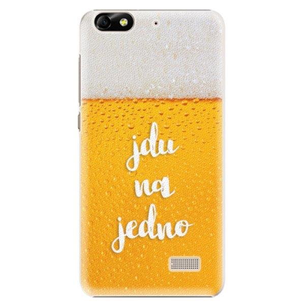 iSaprio Plastové pouzdro iSaprio - Jdu na jedno - Huawei Honor 4C