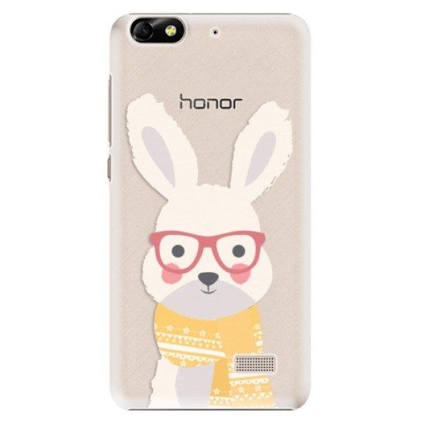 iSaprio Plastové pouzdro iSaprio - Smart Rabbit - Huawei Honor 4C