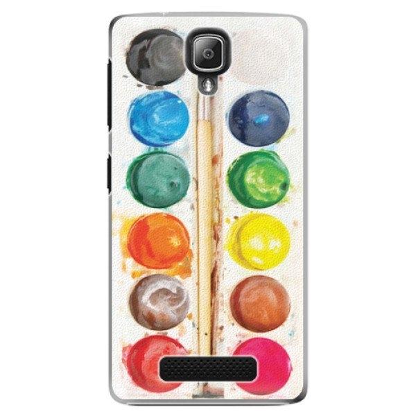iSaprio Plastové pouzdro iSaprio - Watercolors - Lenovo A1000