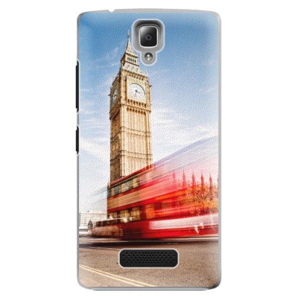 iSaprio Plastové pouzdro iSaprio - London 01 - Lenovo A2010