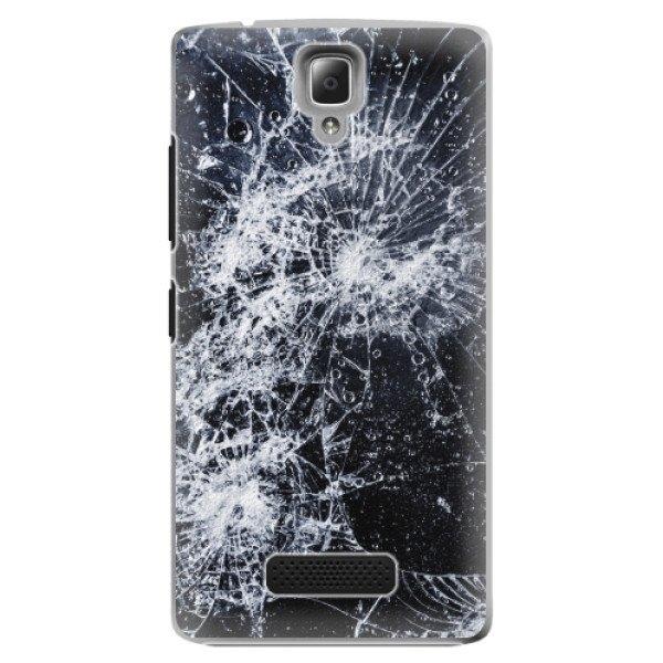 iSaprio Plastové pouzdro iSaprio - Cracked - Lenovo A2010