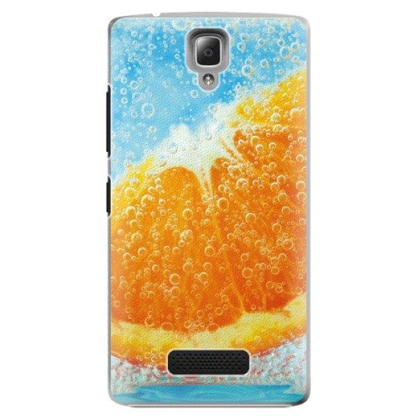 iSaprio Plastové pouzdro iSaprio - Orange Water - Lenovo A2010