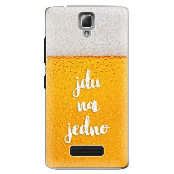 iSaprio Plastové pouzdro iSaprio - Jdu na jedno - Lenovo A2010