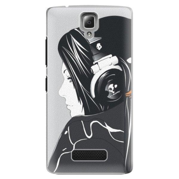 iSaprio Plastové pouzdro iSaprio - Headphones - Lenovo A2010