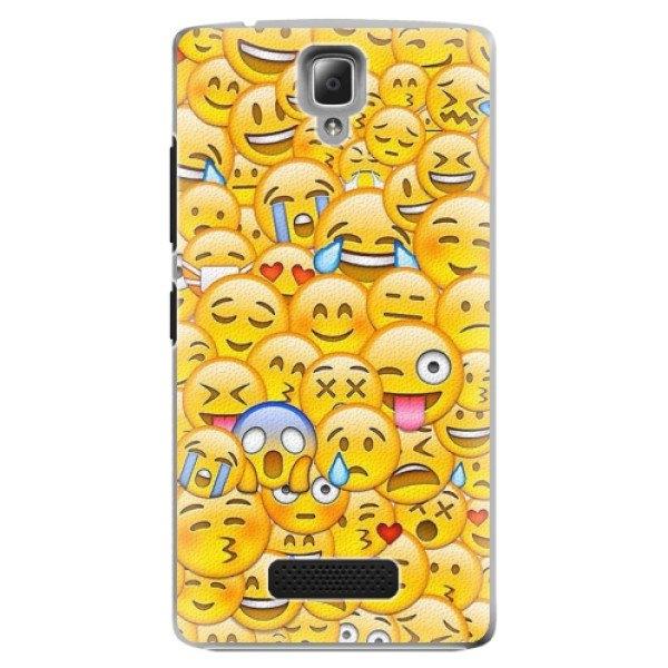 iSaprio Plastové pouzdro iSaprio - Emoji - Lenovo A2010