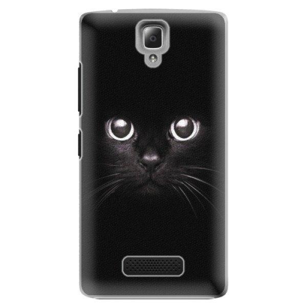 iSaprio Plastové pouzdro iSaprio - Black Cat - Lenovo A2010
