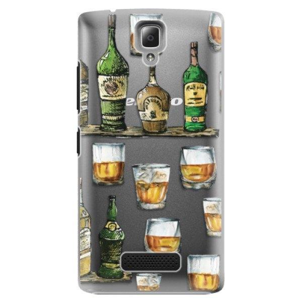iSaprio Plastové pouzdro iSaprio - Whisky pattern - Lenovo A2010