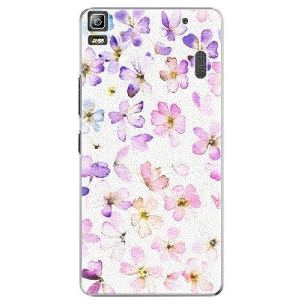 iSaprio Plastové pouzdro iSaprio - Wildflowers - Lenovo A7000
