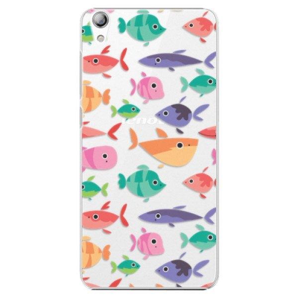 iSaprio Plastové pouzdro iSaprio - Fish pattern 01 - Lenovo S850