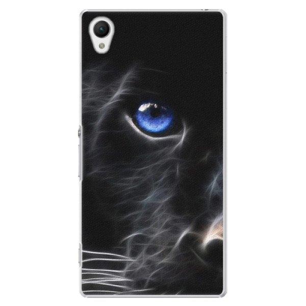 iSaprio Plastové pouzdro iSaprio - Black Puma - Sony Xperia Z1